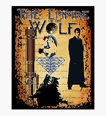 EMPIRE OF THE WOLF  Photographic Print