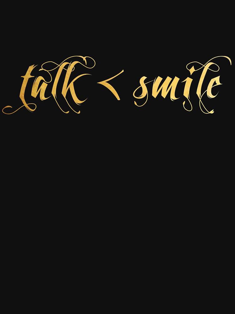 Habla menos, sonríe más de athee-fille