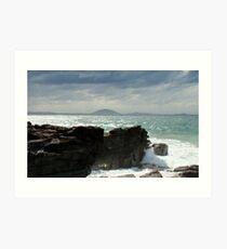 Queensland Cliffs Art Print