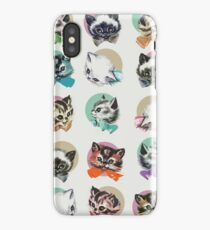 Cats & Bowties iPhone Case