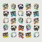 Cats & Bowties by Zeke Tucker