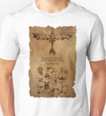 DaVinci's Dragon (Hiccup's Sketchbook) Unisex T-Shirt