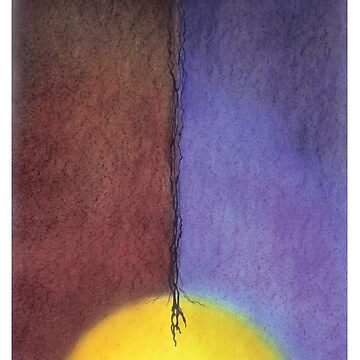 Meditation Abstract 9 by dharmadogstudio