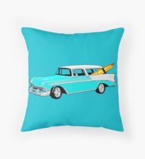 56 Nomad by the Sea in the Morning Throw Pillow