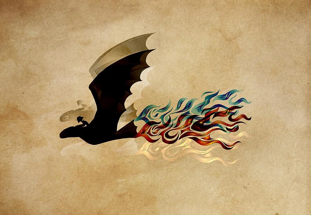 Fireflight by inhonoredglory