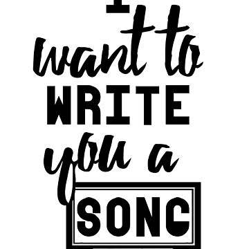 I Want To Write You A Song by Itzmiri