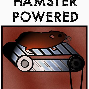Hamster powered by trum