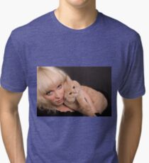 Two Blondes Tri-blend T-Shirt