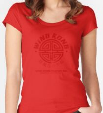 Wing Kong Trading Co. (worn look) Women's Fitted Scoop T-Shirt