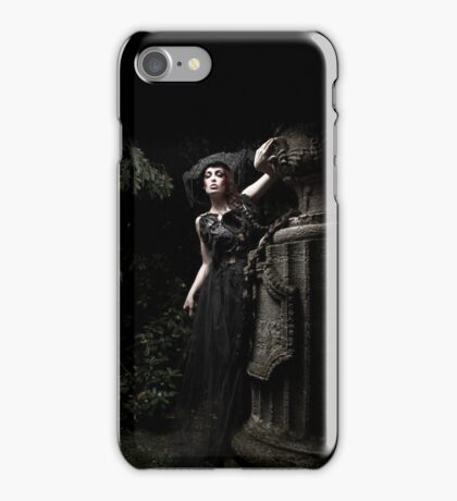 black.tears V iPhone Case/Skin