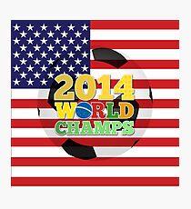 2014 World Champs Ball - USA Photographic Print