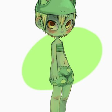 Tiny frog girl by Ful-Fisk