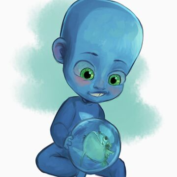 Baby Megamind by Ful-Fisk