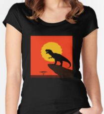 The Dinosaur King Women's Fitted Scoop T-Shirt