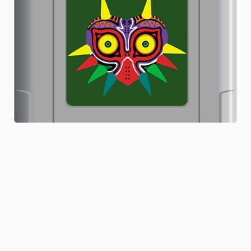 Majora's Mask N64 Cartridge by bmgoepfert