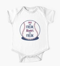 "Tim Lincecum ""The Freak"" Angels shirt One Piece - Short Sleeve"
