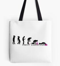 Party Evolution T-Shirt Tote Bag