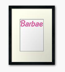 Barbae Framed Print