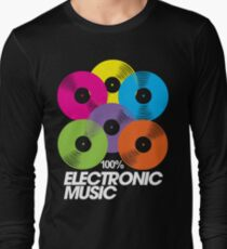 100% Electronic Music (black) T-Shirt