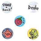 Fun Time Sticker Buddies by giania