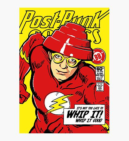 Post-Punk Comics | Whip It Photographic Print