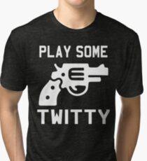 Conway Twitty Tri-blend T-Shirt