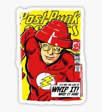 Post-Punk Comics | Whip It Sticker