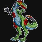 robo-zombie allosaurus... by kangarookid