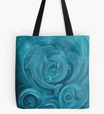 Angel and her mother Tote Bag