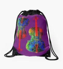 Cello Color Drawstring Bag