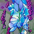 Larkspur by Lori Elaine Campbell