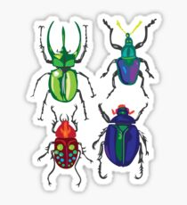Beetles Sticker