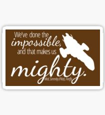 Firefly Shirt Sticker