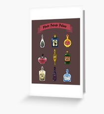 Moste Potente Potions Greeting Card