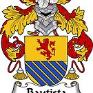 Bautista Coat of Arms/ Bautista Family Crest by William Martin