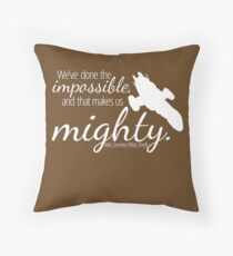 Firefly Shirt Throw Pillow