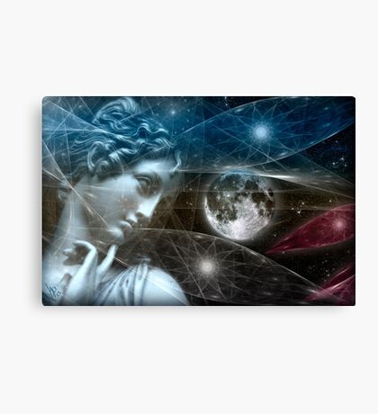 Vestal Moon Canvas Print