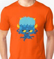 Cute Blue Monster Unisex T-Shirt