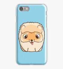 Cute little pomeranian puppy iPhone Case/Skin