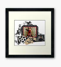 Resident Evil Milla Jovovich Framed Print