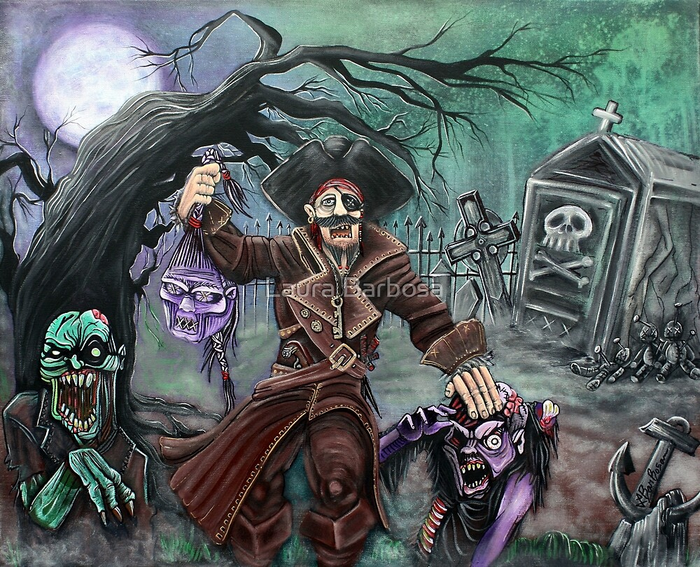 Pirate's Graveyard by Laura Barbosa