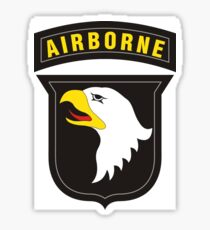 101st Airborne - Cell Phone Case - T-Shirt - Tote Bag - Pillow... Sticker