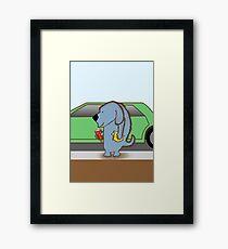 Justin Dogger Framed Print
