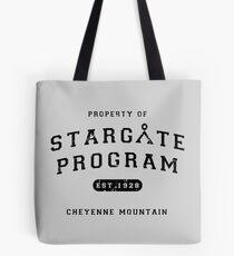 Property of Stargate Program Tote Bag