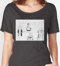 Doctor WHO Band Women's Relaxed Fit T-Shirt