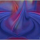 Painted Sheets Abstract No 14 by Wayne King