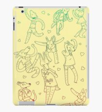 Animal Dance Party iPad Case/Skin
