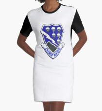 Currahee Patch 101st Airborne Graphic T-Shirt Dress
