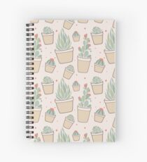 Cactus and Succulent Plants Spiral Notebook