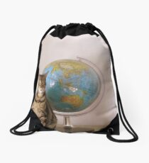 The World Is Not Enough Drawstring Bag